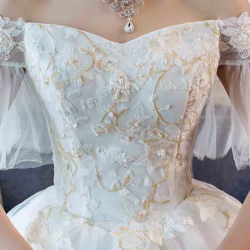 d365f73893a57 Large Size Pregnant Women Wedding Dress Plus Fertilizer To Increase Luxury  Big Tail Pregnancy Maternity Dress Wedding Gown 2018-in Dresses from Mother  ...