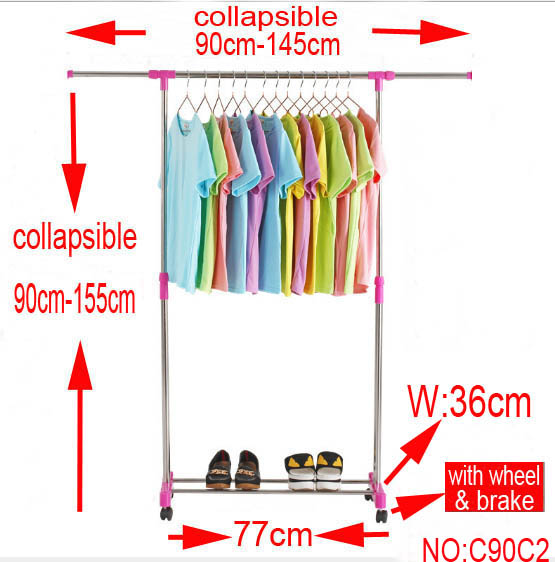 ground Clothes rack  ground Clothes rack