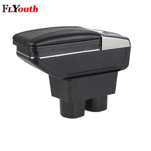 Car Armrest Box Center Storage With Cup Holder Ashtray Interior Accessories Parts Decoration For Nissan Tiida 2005-2014