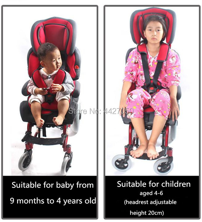 2019 New baby cerebral palsy infant wheelchair