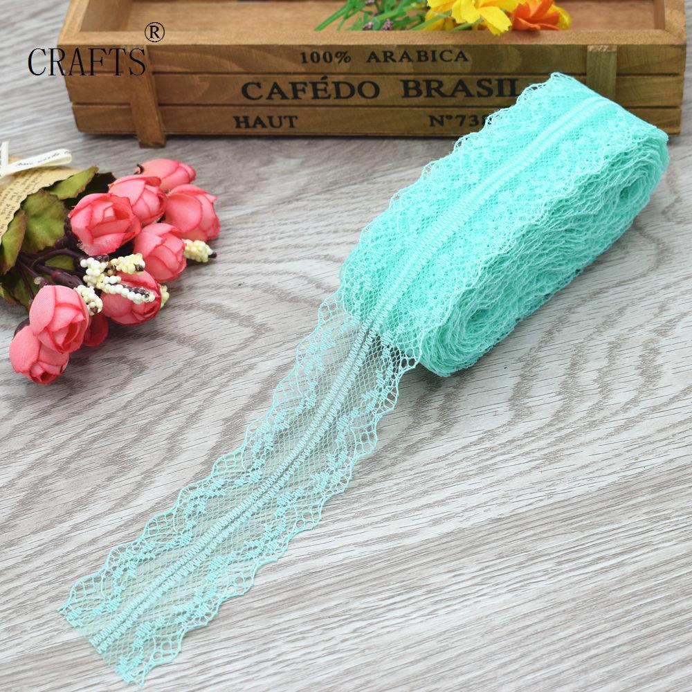 HTB1TTzgiUR1BeNjy0Fmq6z0wVXaL New! 10 yards beautiful lace ribbon, 3.8 cm wide, DIY decoration accessories, holiday decorations