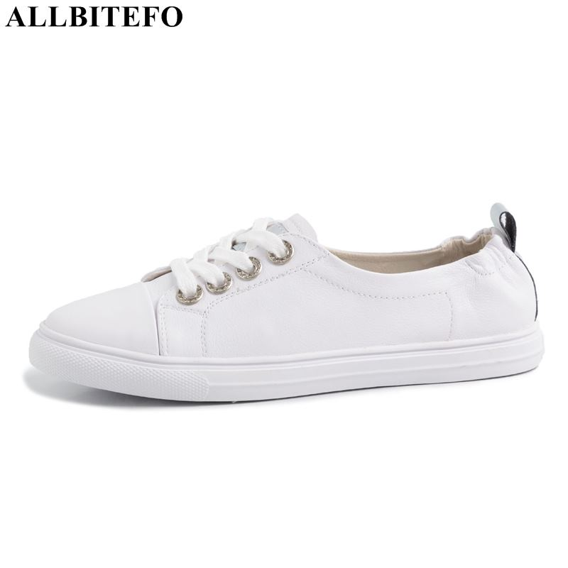 ALLBITEFO full genuine leather comfortable women shoes high quality women flats sneakers shoes flat heel shoes women heelsALLBITEFO full genuine leather comfortable women shoes high quality women flats sneakers shoes flat heel shoes women heels