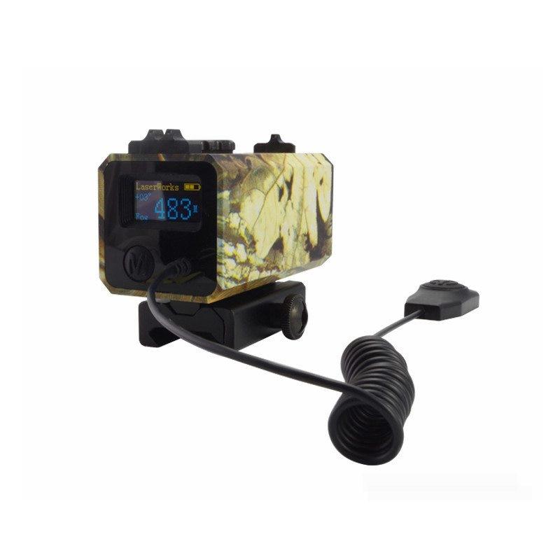 700 m Riflescope Laser Rangefinder Camouflage Hunting Equipment Speed Finder Laser Distance Meter for Hunting 700m mini laser rangefinder for riflescope laser sight rifle scope mate laser scope distance meter for hunting ls002