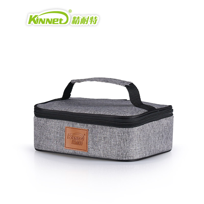 KinNet ice cooler box thermal bag hand bag kids lunch bag aluminum foil insulated thermal insulin cooler bag lunch box ice pack цена