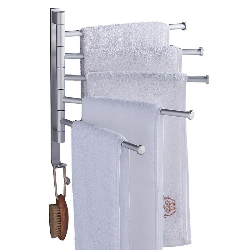 Aluminum Towel Rack Nail Free Multi