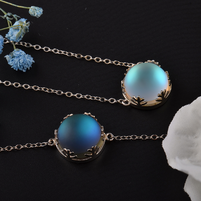 MosDream Ladies Fashion Aurora Borealis Necklace 4