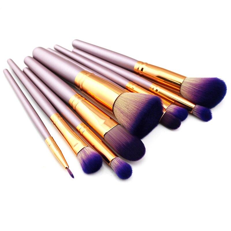 Tesoura de Maquiagem kits de escova Keyword : 9pcs Makeup Brushes
