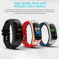 New Smart Bracelet Tracker Smart Push Reminder Heart Rate Blood Pressure Monitoring Vibration Sports Remote Taking Photo Music