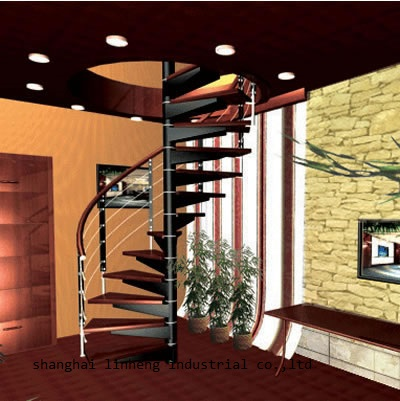 Factory Galvanized Spiral Carbon Stainless Steel Stairs Grill Design With Good Price