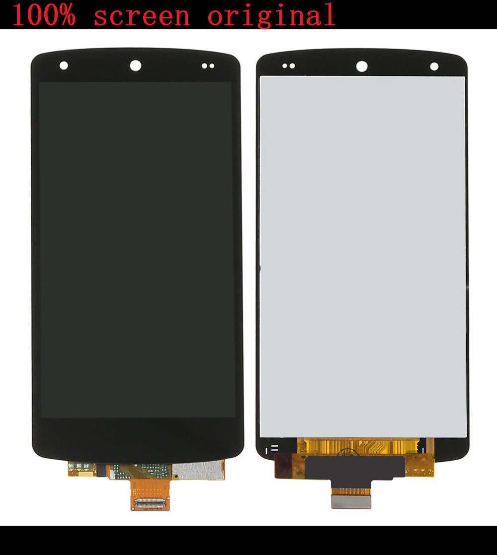 For LG Google Nexus 5 D820 D821 LCD Display Touch Screen Digitizer Assembly new lcd touch screen digitizer with frame assembly for lg google nexus 5 d820 d821 free shipping