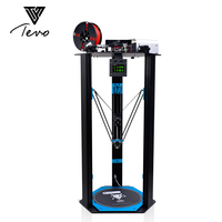 2017 TEVO Little Monster Delta 3D Printer Kit Impresora 3D OpenBuilds Extrusion Smoothieware MKS TFT28 Bltouch