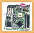 Envío gratis utilizado gigabyte ga-8i khmer e7210 ventilador de nic dual ddr de enrutamiento 478 placa base