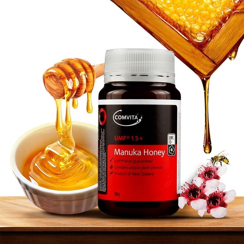 Original NewZealand Comvita Manuka Honey UMF15+ for Digestive Immune Health Respiratory System Cough Sooth Coughs Sore ThroatOriginal NewZealand Comvita Manuka Honey UMF15+ for Digestive Immune Health Respiratory System Cough Sooth Coughs Sore Throat