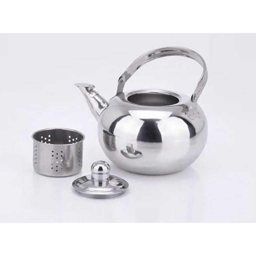Tee Wasserkocher Tee Kaffee Teekanne Küche Camping Traditioneller Edelstahl