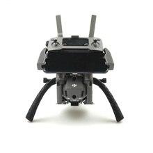 휴대용 안정기 홀더 짐벌 트레이 원격 제어 마운트 브래킷 지원 dji mavic 2 pro zoom drone 용 1/4 삼각대 모노 포드