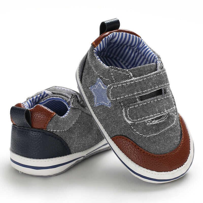 חדש אופנה יפה ילדי כותנה מזדמן מכנסיים קצרים תינוק רך Sole עריסה נעלי תינוקות ילד ילדה פעוט Sneaker אנטי להחליק 0-18 חודשים