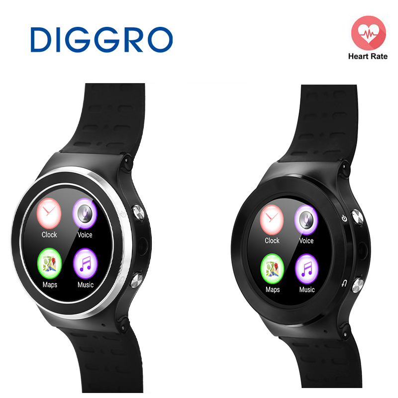 все цены на Diggro S99 Android 5.1 Smart Phone Support SIM Card 3G Wifi Bluetooth Watch Fitness Tracker Camera for Android Phone MTK6580