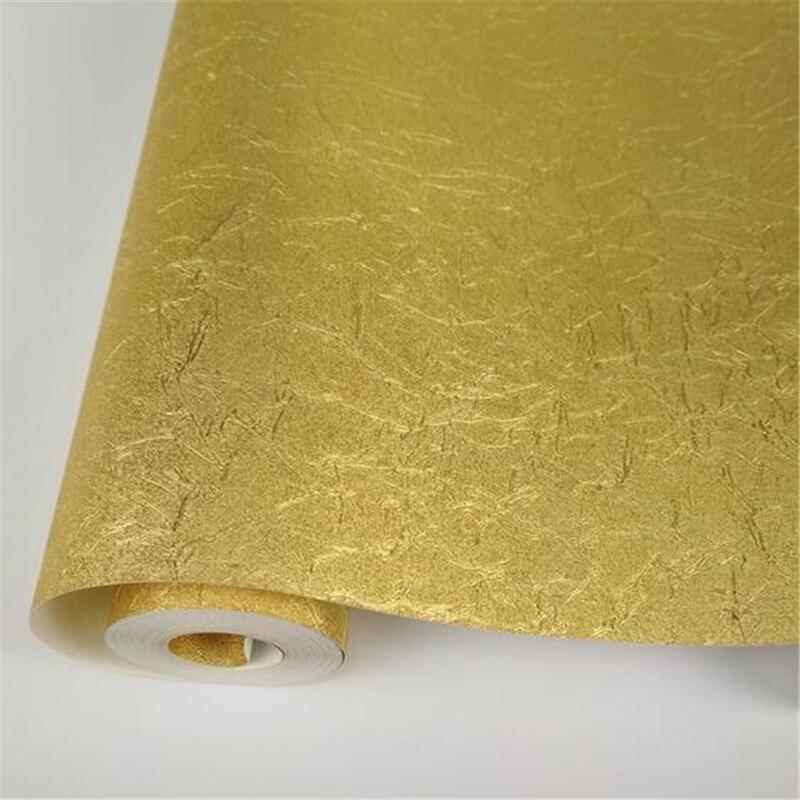 Beibehang papier peint feuille d'or haut de gamme or argent papier peint salon chambre hôtel dessin KTV plafond fond papier peint - 6