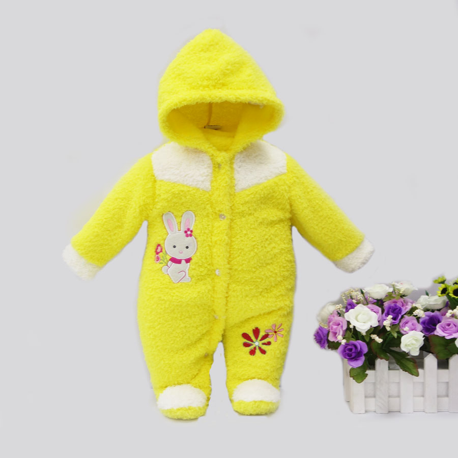 2017-spring-winter-hot-coral-fleece-hoodie-romper-embroidery-long-sleeve-baby-clothing-girl-one-piece-clothes-newborn-warm-suit-2