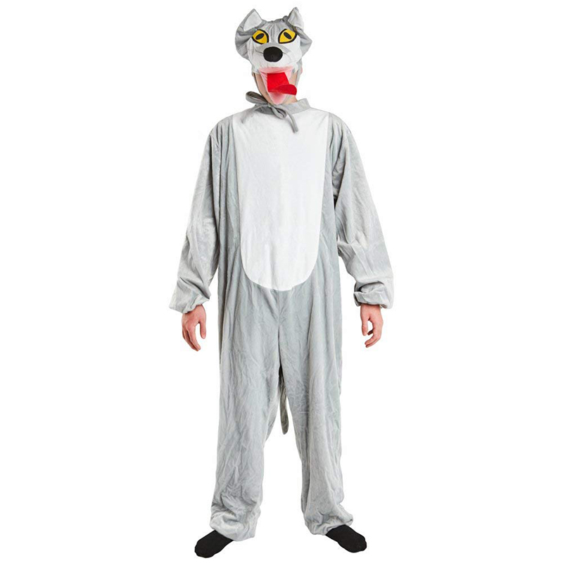Adult Storybook Big Bad Wolf Costume