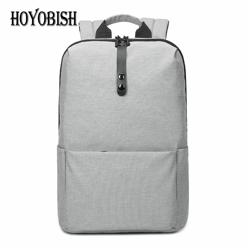 HOYOBISH 2018 New Men Anti-theft Backpacks Trendy Oxford College Backpack For Students Male Waterproof Laptop Bag Back bag OH216