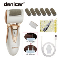 Electric Foot Care Pedicure Product Callus Remover Rechargeable Pedicura File Machine for Peel Dead Skin Removal Feet Care Tools