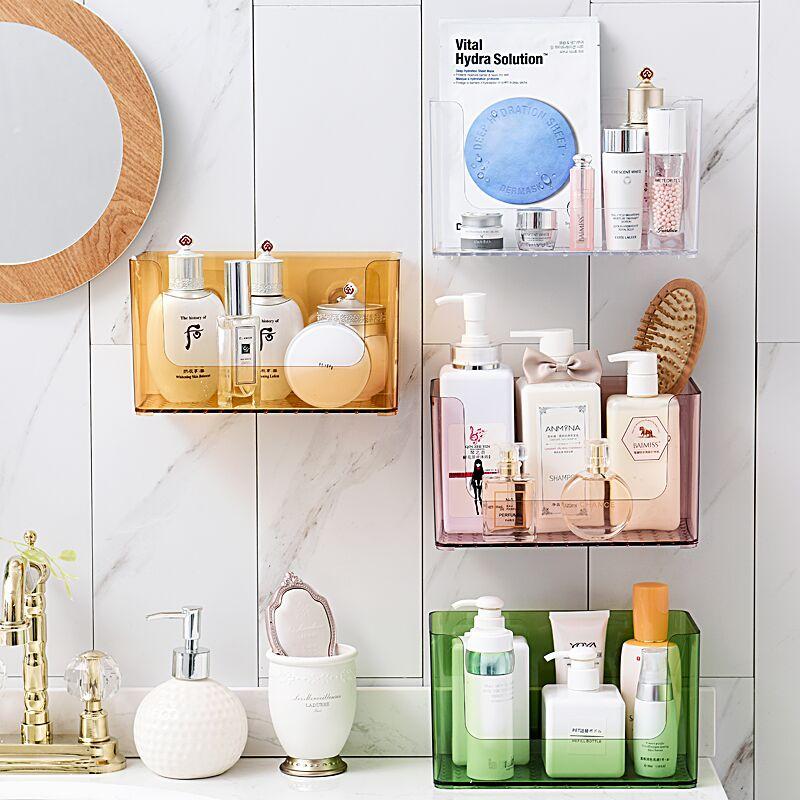ᐂAF rack de almacenamiento de bricolaje pared no Punch estante ...