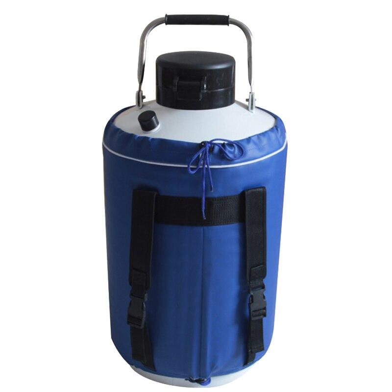 Pot de crème glacée fumée 10L contenant de l'azote liquide réservoir cryogénique de haute qualité Dewar pot de beauté d'azote liquide YDS-10 - 2