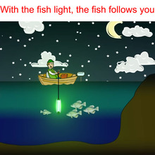 Underwater Fishing Light Generation 12V 30W Super Bright LED 3000LM, Night Fishing Finder, Fishing Attracting, IP68 Led Underwat недорого