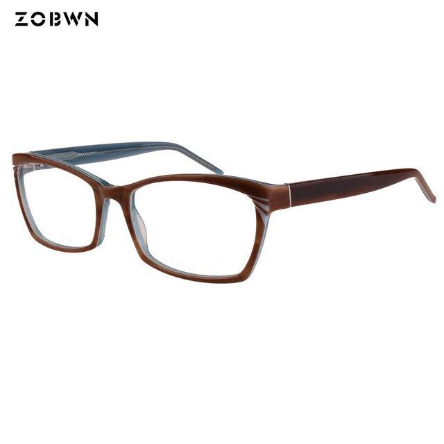 e8304eaf371 ZOBWN Fashion Optical Eyeglasses Frame myopia Full Rim Women Spectacles Eye  glasses Oculos de Grau Eyewear Prescription Eyewear