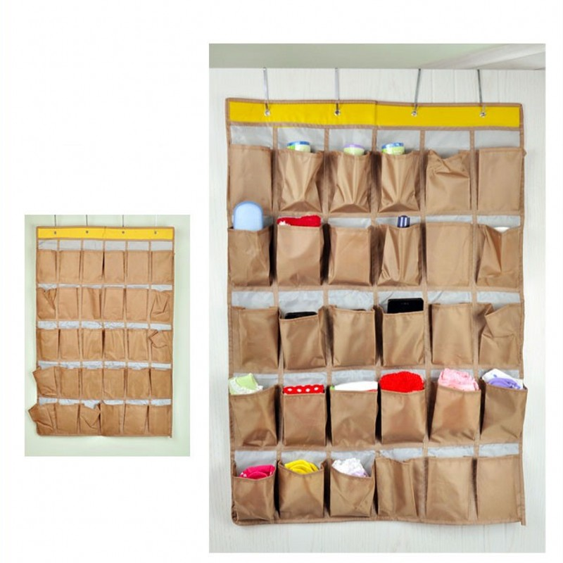 awesome household pockets oxford cloth over wall door closet hanging storage bag shoe bag tidy women hang bag jewelry box organiserin storage bags from home ...  sc 1 st  thehomedesigns.net & Hanging Storage Organiser. Egoal Wooden Bamboo Coat Stand Hooks Free ...