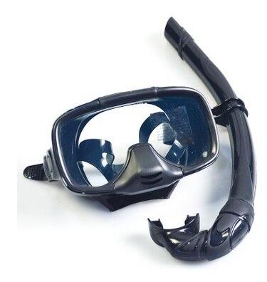 1 set Plongée Masque Tuba Objectif et Silicone Plongée sous-marine Équipement de Natation Lunettes Masque Livraison Gratuite De Bain de Plage de Bain masque