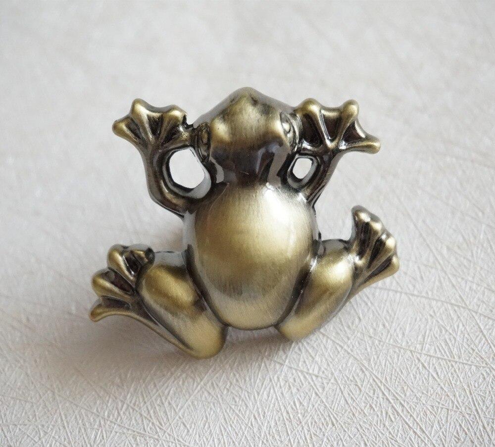 Kids dresser drawer knobs pulls handles frog antique for Children s bureau knobs