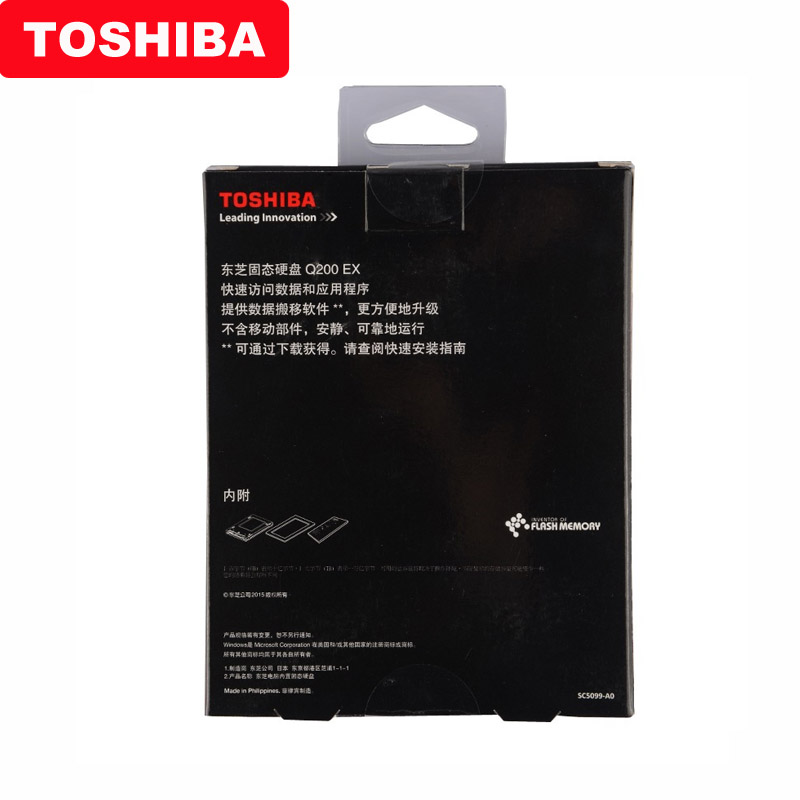"Image 5 - Original TOSHIBA 240GB Internal solid state drive Q200 EX 480GB MLC Hard Drive Disk 2.5"" SATA 3 SSD  High Speed Cache for Laptop-in Internal Solid State Drives from Computer & Office"