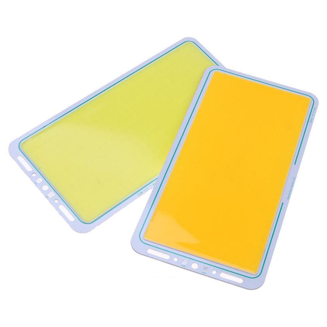 12V 7000LM COB LED Panel Strip Light White/Warm White LED Panel Strip COB Chip Light Lamp 220X120mm