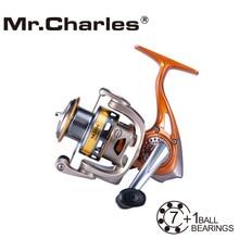 Mr.Charles YA2000-5000 line capacity 2016 New Quality Orange 7BB+RB Spinning Fishing Reel Carp Fishing Wheel Spinning Reel