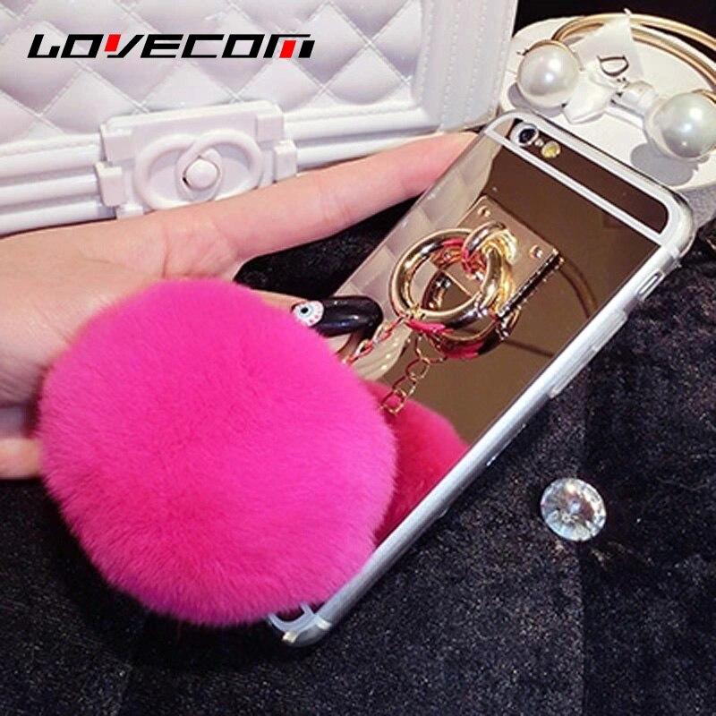 Para el iphone 4s 5s 6 6 s 7 más cubierta para samsung galaxy s4 S5 S6 S7 Borde