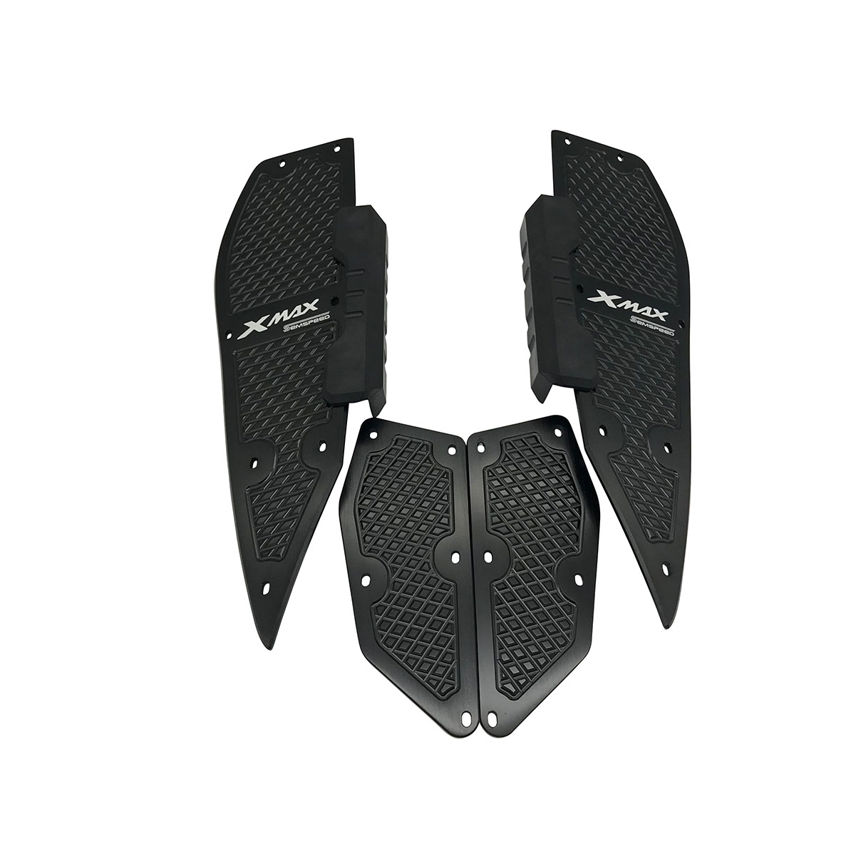 Modified Motorcycle X MAX Footrest Pedals For Yamaha XMAX300 XMAX400 XMAX250 XMAX125 2017-2019 Foot Pads Pedal Plate Accessories