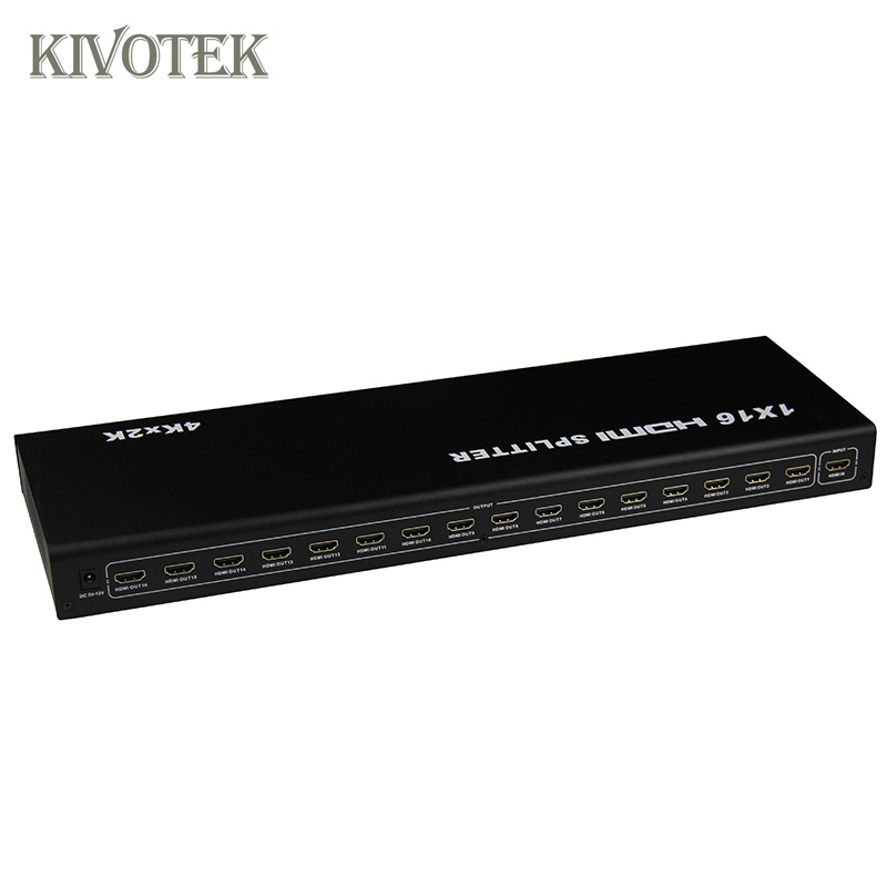 Image 5 - 1x16 4K HDMI Splitter Box 1 in 16 out,Hdmi1.4 1 to 16 ports splitter Supports DTS HD Dolby AC3/DSD For HDTV HD PlayerBest Price,-in Computer Cables & Connectors from Computer & Office