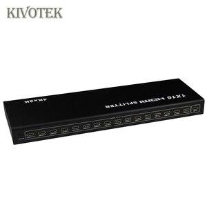 Image 5 - 1x16 4K HDMI Splitter Box 1 in 16 out, hdmi1.4 1 zu 16 ports splitter Unterstützt DTS HD Dolby AC3/DSD Für HDTV HD PlayerBest Preis,