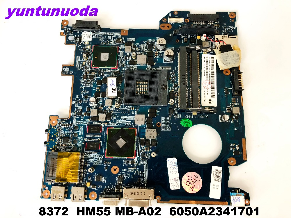 Original for ACER <font><b>8372</b></font> laptop motherboard <font><b>8372</b></font> HM55 MB-A02 6050A2341701 tested good free shipping image