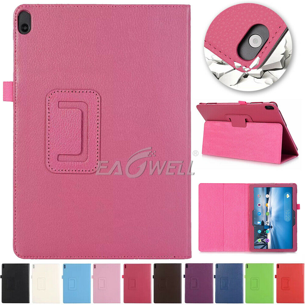 Funda For <font><b>Lenovo</b></font> Tab M10 10.1 <font><b>TB</b></font>-X605L Folding Stand Flip <font><b>Case</b></font> PU Leather Cover For <font><b>Lenovo</b></font> Tab P10 <font><b>TB</b></font>-<font><b>X705L</b></font> 10.1 Inch <font><b>Case</b></font> image