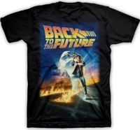 T Shirt Men 2017 Fashion High Quality BACK TO THE FUTURE MOVIE POSTER ADULT MENS T