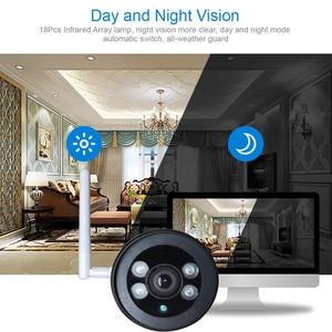 Image 4 - Caméra extérieure sans fil 1080 P HD Wifi caméra en métal CCTV Camara téléphone portable balle SD TF carte slot caméra de sécurité ICsee XMeye