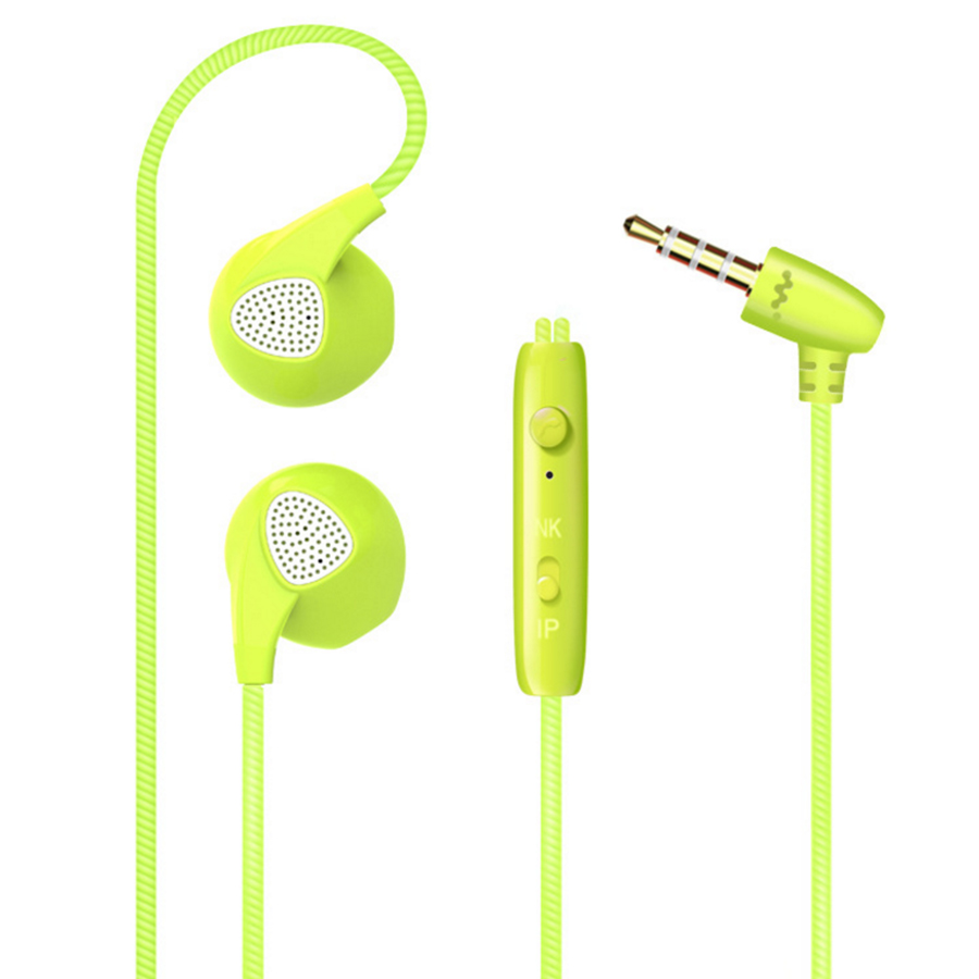 Earphone Earbuds Stereo Sound Music MP3 Headset With Mic for ASUS Zenfone 4 5 2 LTE A450CG fone de ouvido