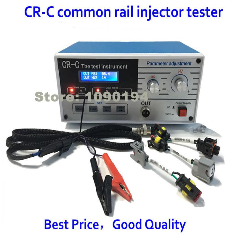 Цена за Акция! CR-C Common Rail Тестер дизель Common Rail драйвер Топливная форсунка инструмент