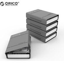 ORICO PHP-5S 5 Bahía de 3.5 pulgadas Protectora Caja/Caja De Almacenamiento de Disco Duro (HDD) o SDD con Función Resistente Al Agua-5 UNIDS/LOTE