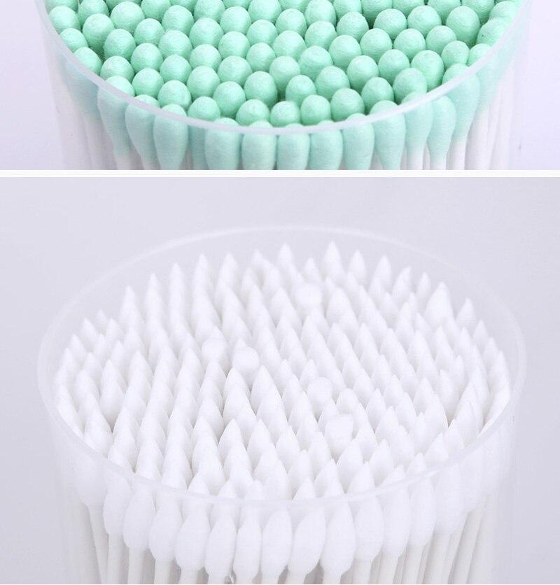 Focusme 200 pçscaixa dupla cabeça papel algodão