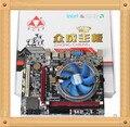 Бесплатная доставка общественного в богатство I5 480 м Taoban новую материнскую плату + I5 четыре нити CPU + шариковый подшипник вентилятора комплект