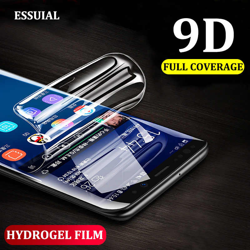 9D Curved Full Cover Hydrogel Film For Samsung Galaxy S8 S9 Note 8 9 S7 Soft Screen Protector For S8 S9 S6 Edge Protective Film
